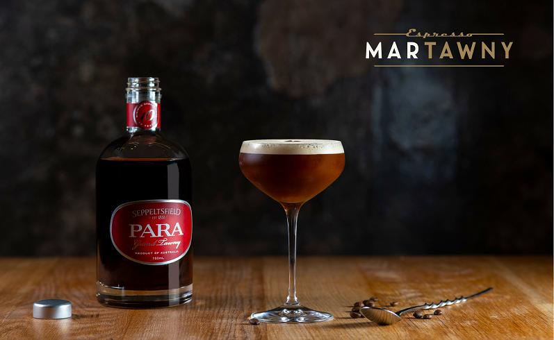Espresso MarTawny with logo